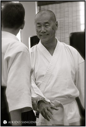 Henry Sim at the Aikido Sangenkai